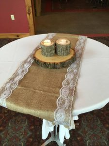 Natural Tree Bark Candle Holder