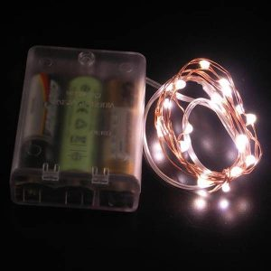 Microdot Battery Operated LED Light Strand